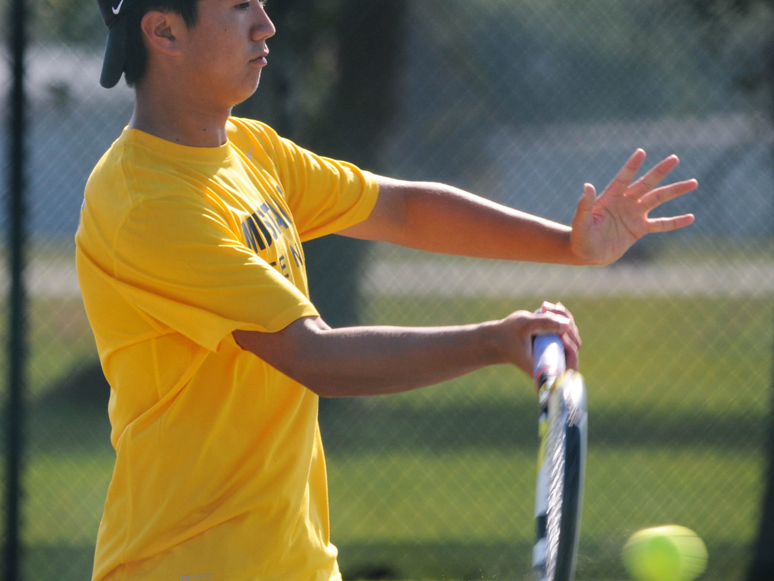 Albert Go of Titusville won the Class 2A overall state singles championship in FHSAA tennis on Friday.