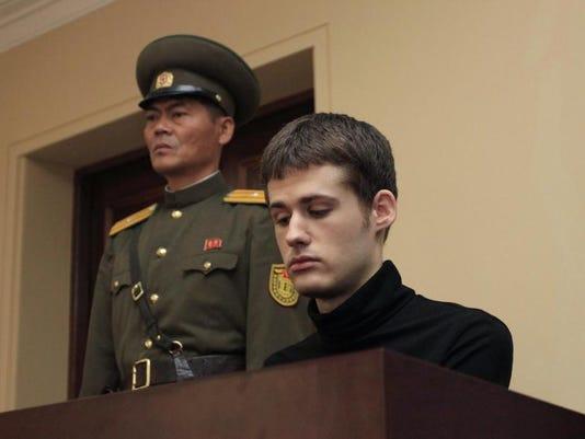 Koreas American Detained