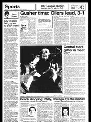 BC Sports History - Week of May 28, 1985
