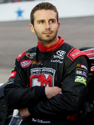 Matt DiBenedetto finished a career-best sixth in the Sprint Cup Series Sunday at Bristol Motor Speedway.