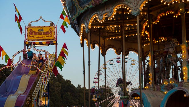 The opening day of the Champlain Valley Fair in Essex Junction is Friday, August 25, 2017.