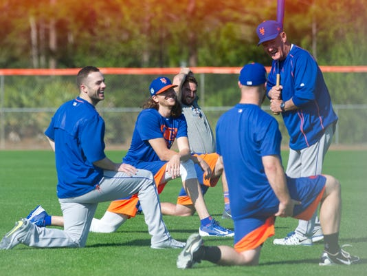 Mets Workouts