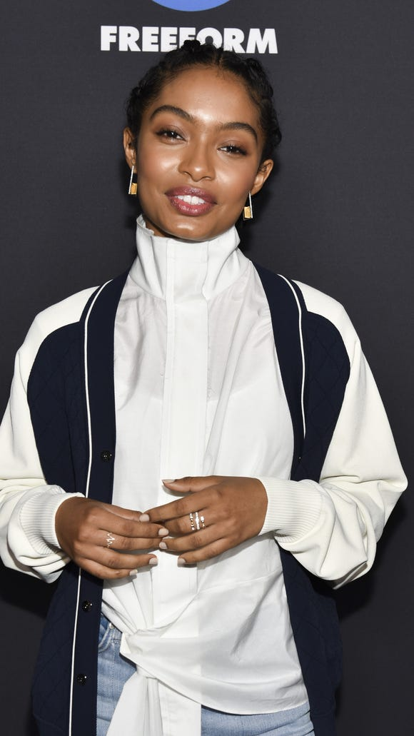 'Grown-ish' star Yara Shahidi found out that her show was getting renewed during her Freeform Summit panel.
