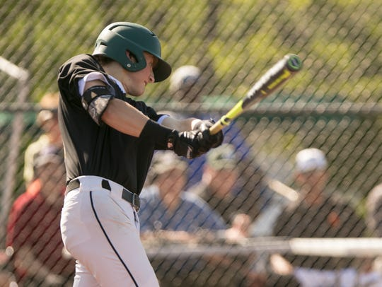 Howell's Luke Russo is 9-for-13 with six RBI in four games.