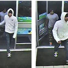 Police are searching for two suspects in connection with a robbery that happened at a 7-Eleven in Woodbridge, Va.