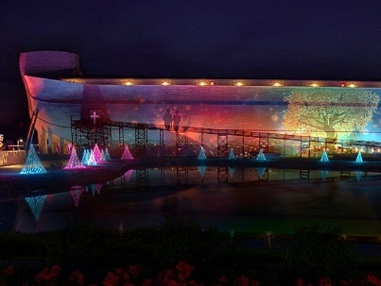 The Ark will become a 510-foot-long, five story-high