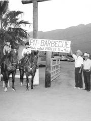 Deep Pit Barbecue c. 1965.
