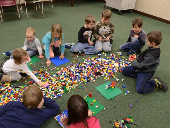 LEGO events are among the April children's activities
