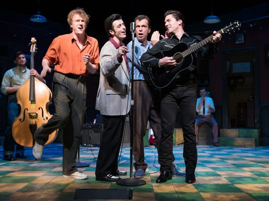 """St. Michael's Playhouse presents the musical """"Million Dollar Quartet"""" through July 1 at the McCarthy Arts Center in Colchester."""