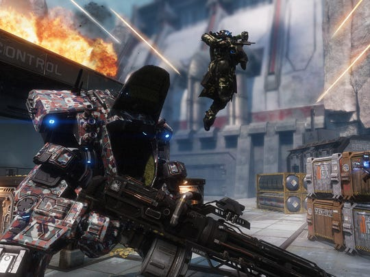 Man and machine. Human and Titan combat remains the foundation of Titanfall 2.