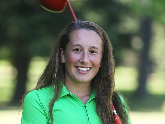 South Salem freshman Ellie Slama is the Statesman Journal All-Mid-Valley girls golfer of the year.