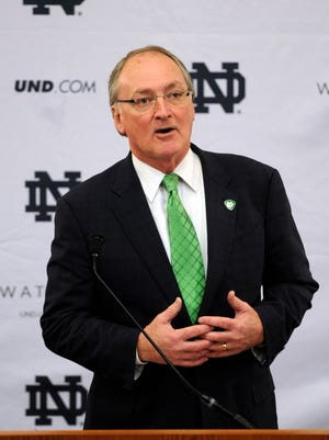 Notre Dame AD Jack Swarbrick is under fire from a sect of fans and alumni.