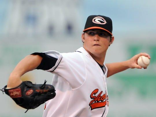 Baltimore Orioles closer Zach Britton was a starter