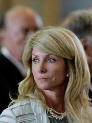 Texas state Sen. Wendy Davis, D-Fort Worth