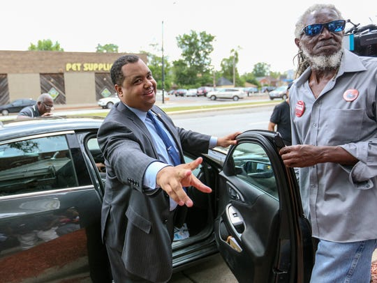 Detroit Mayoral Candidate Coleman A. Young II says