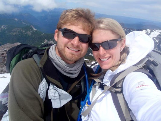 Tommy and Alison Mount Jefferson 2014