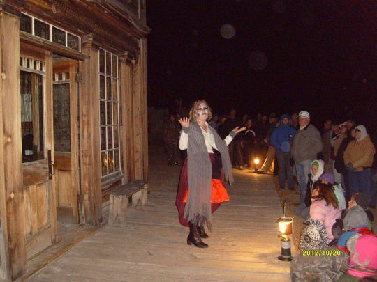 The Bannack Ghost Walk features skits based on historical