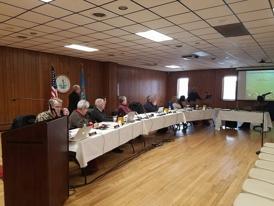 The Rehoboth Beach mayor and commissioners met on Jan.
