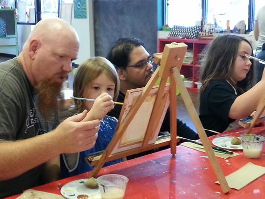 Mom and Teen:Spend the afternoon creating a masterpiece
