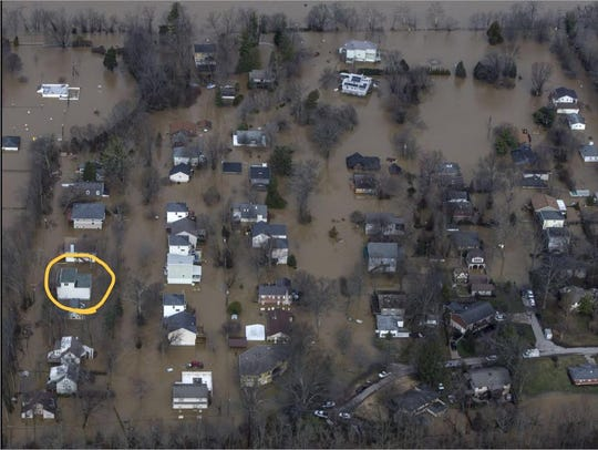 You can see Lucas Aulbach's home circled on the left.