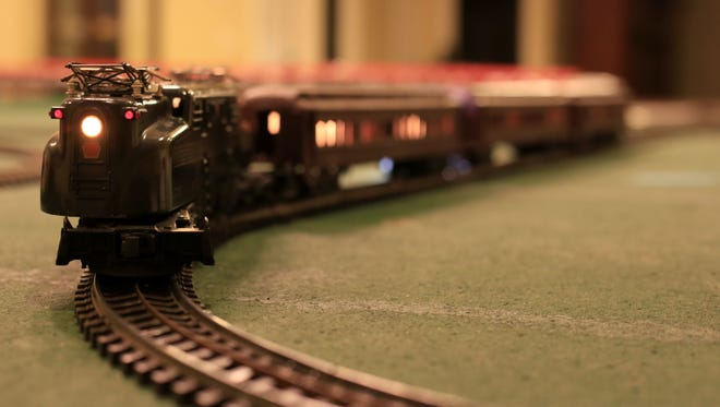 The annual Model Railroad Open House runs Friday through Monday at 17 different Washington County homes, including Carl Machutta's St. George home, which features this post-war Lionel layout.
