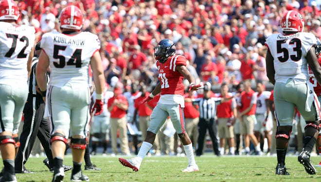 Jaylon Jones (31) will try to build off his freshman All-SEC performance this fall.