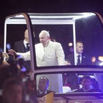 Phoenix-area residents board bus bound for Mexico City to see pope