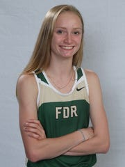 Franklin D. Roosevelt star distance runner, Sarah Trainor.