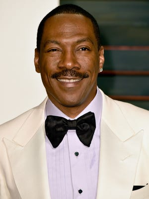Eddie Murphy attends the 2015 'Vanity Fair' Oscar Party  in Beverly Hills on Feb. 22.