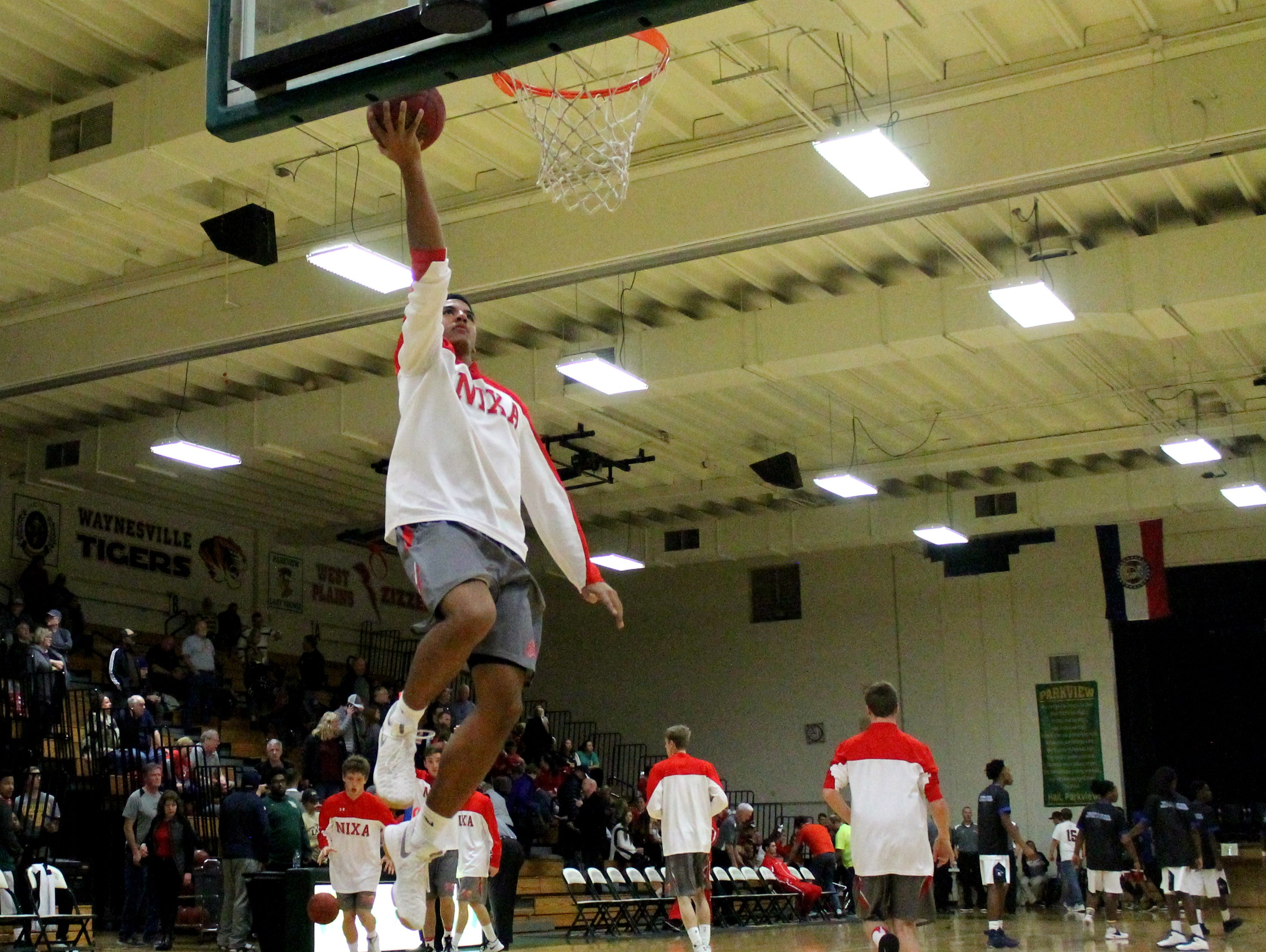 Nixa forward Christian Bundy averaged eight points and 3.9 rebounds per game as a junior.