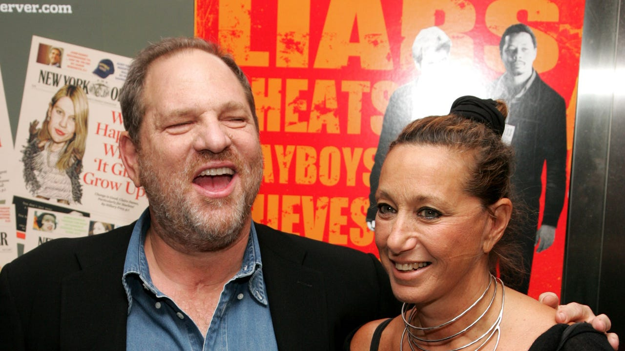 Donna Karan sorry after defending Harvey Weinstein