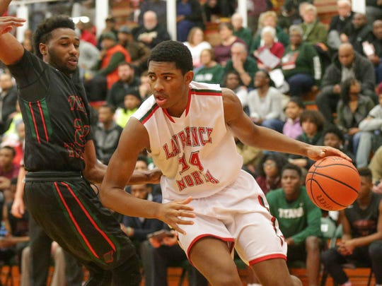 Lawrence North and Kevin Easley (right) will face North Side in next season's Tipoff Classic.
