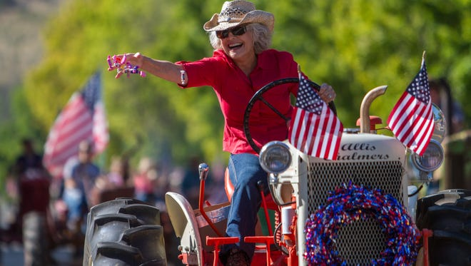 Labor Day Parade in Parowan, Monday, Sept. 7, 2015.