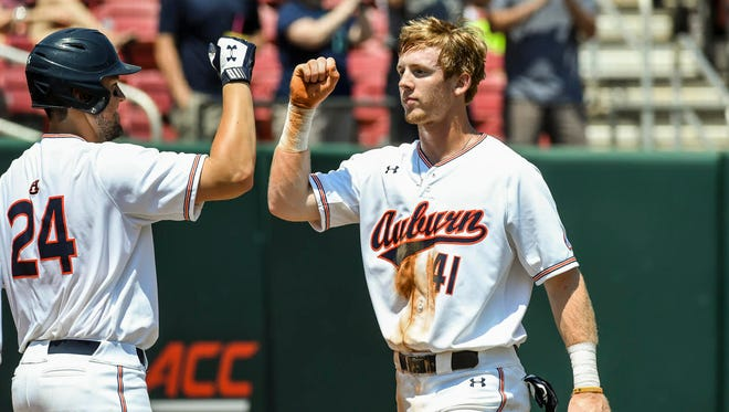 Auburn freshman right fielder Steven Williams went 4 for 4 with four runs scored and four RBIs with a 3-run home run in a 13-4 victory over Northeastern in the NCAA Raleigh Regional Friday.