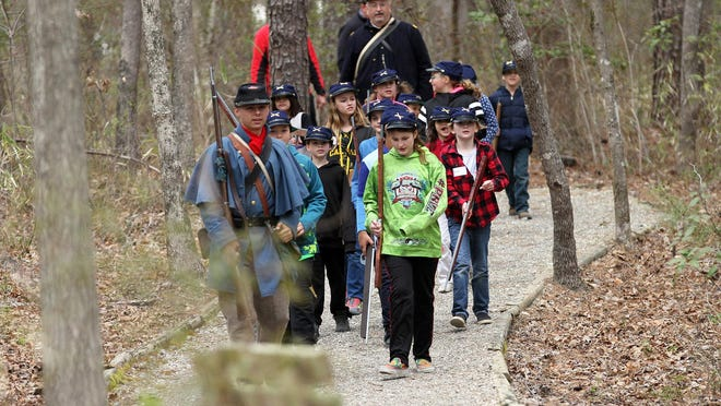 The New Bern Battlefield Park remains open and draws families and small groups of visitors. Events such as Harry Goodman Battlefield Adventure Day have been canceled for now  because of COVID-19.