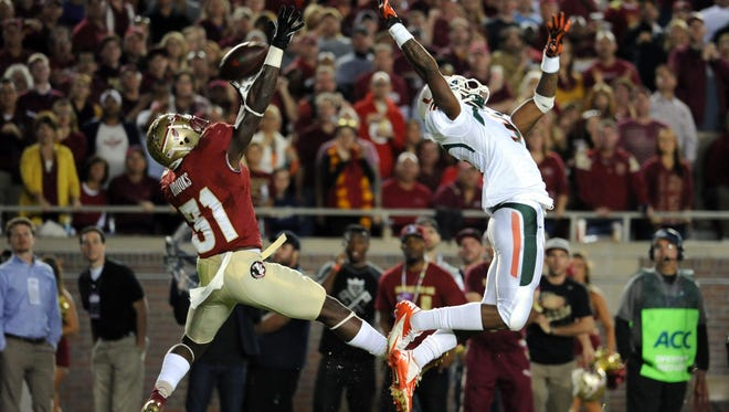 Florida State remains No. 1 in the 1-125 re-ranking after beating rival Miami (Fla.) 41-14.