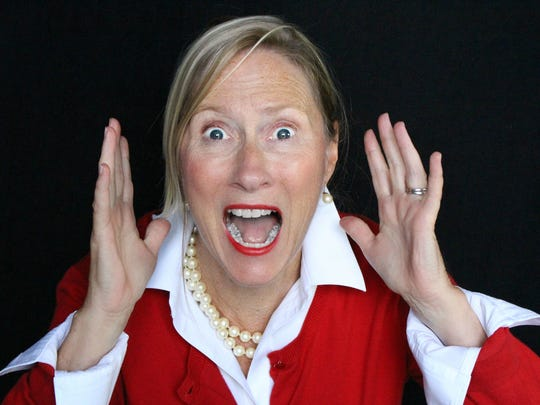 """Susan Granfors is among the cast members in QNEK Production's """"Farce of Nature."""""""