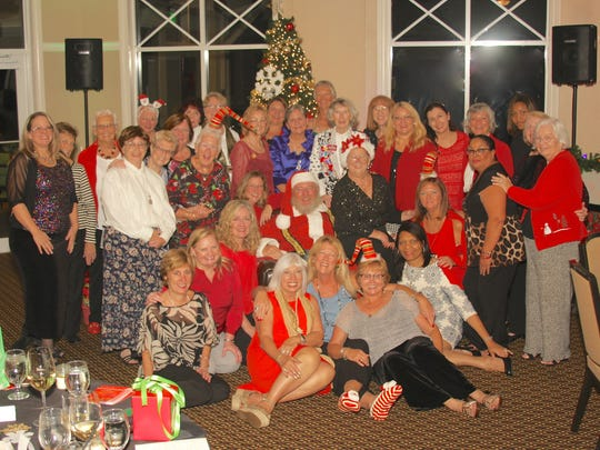 Port St. Lucie Business Women's 2016 holiday party and installation of new officers