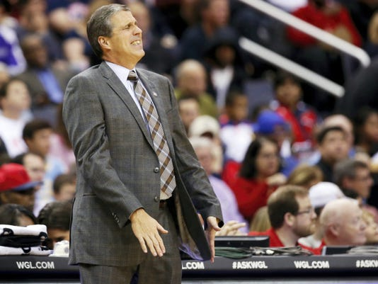 Washington Wizards coach Randy Wittman is not happy with the way his team is playing defense.