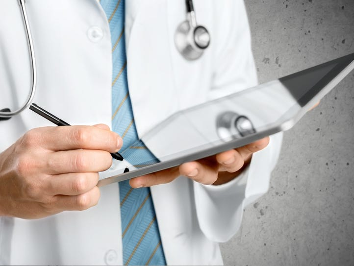 Doctor, Healthcare And Medicine, Note Pad