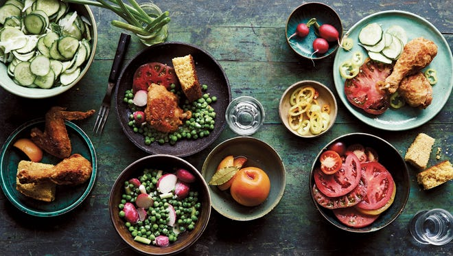 """A photo spread from Ronni Lundy's cookbook, """"Victuals,"""" one of Malaprop's best-selling cookbooks of the year."""