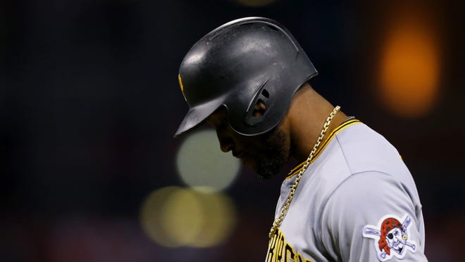 Pirates outfielder Starling Marte was suspended 80 games for violations of MLB's drug policy in 2017