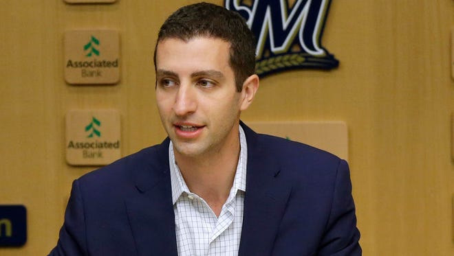 Brewers general manager David Stearns says the team is making progress in its quest to fill some areas of need even though no deals were made at the winter meetings.