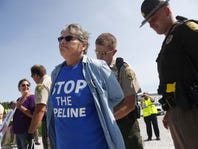 Should Iowa's Dakota Access pipeline protesters face terrorism charges?
