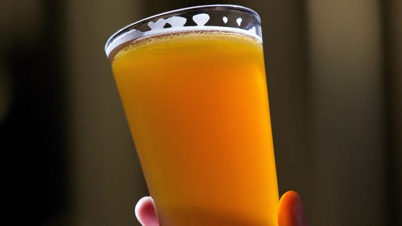 This Associated Press file photo shows a pint of beer.