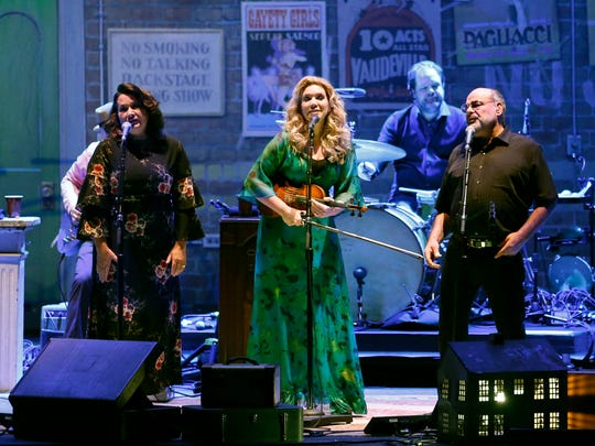 Alison Krauss performing at Kodak Hall in the Eastman Theatre during the Xerox Rochester International Jazz Festival.
