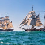 Tall ships featured in 'Pirates of the Caribbean,' 'Star Trek' to dock in Newport