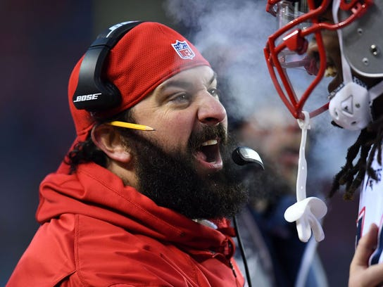 The Giants have requested permission to interview Patriots defensive coordinator Matt Patricia for their head coaching vacancy.