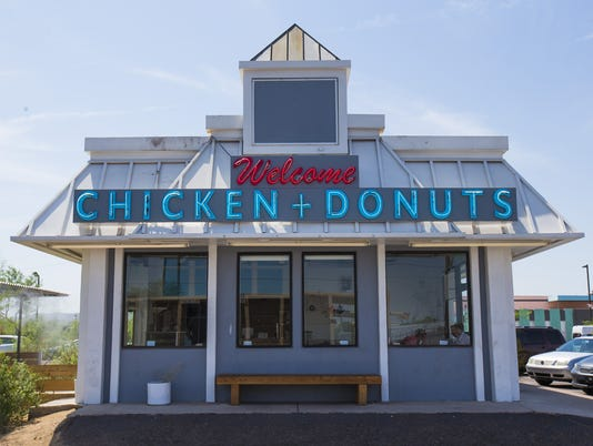 Welcome Chicken + Donuts