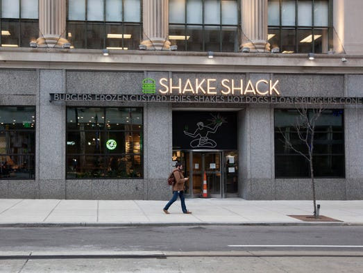 Shake Shack brings its first store to Michigan, photographed